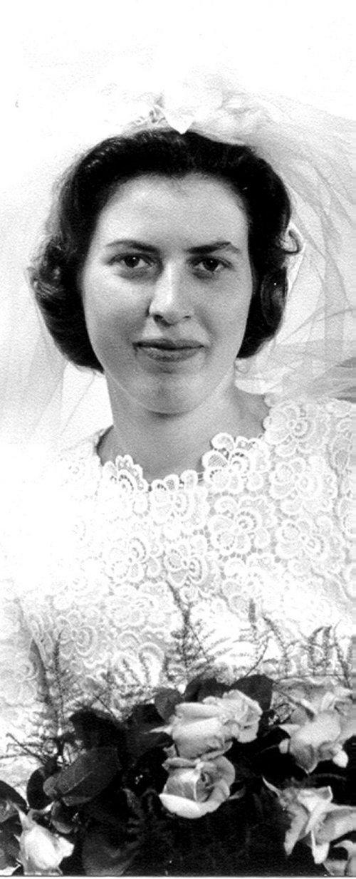 Mechthild Schulte-Schulenberg, Tochter des Medizinaldirektors Dr. Josef Kindäuser aus Gießen.